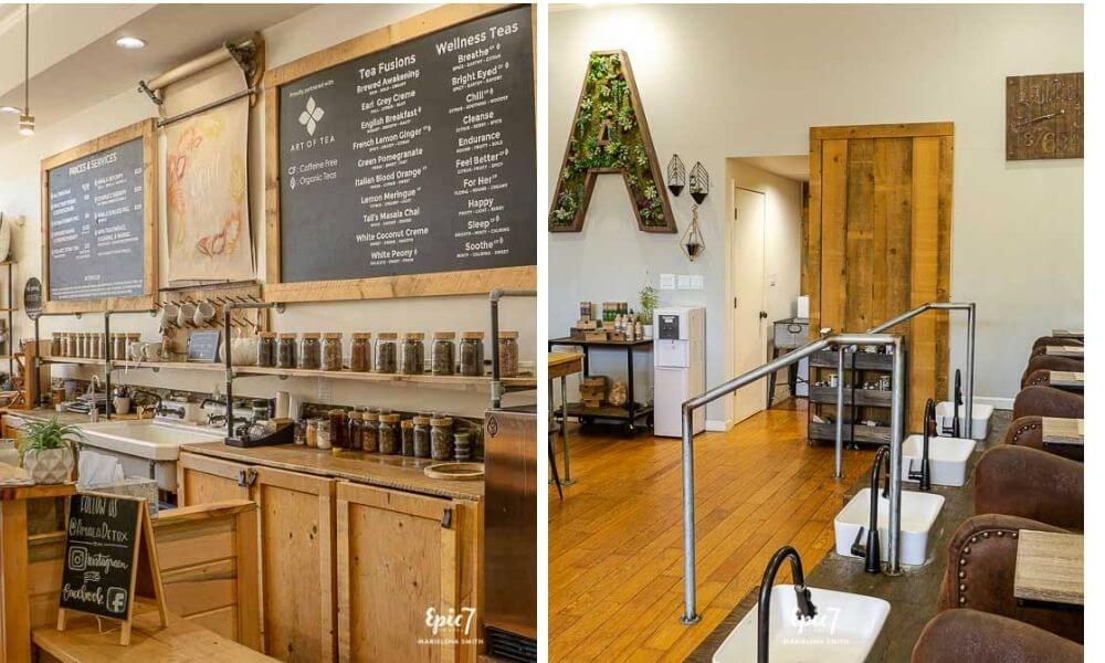 California Gold Rush Town Amala Detox Tea and Footsoak
