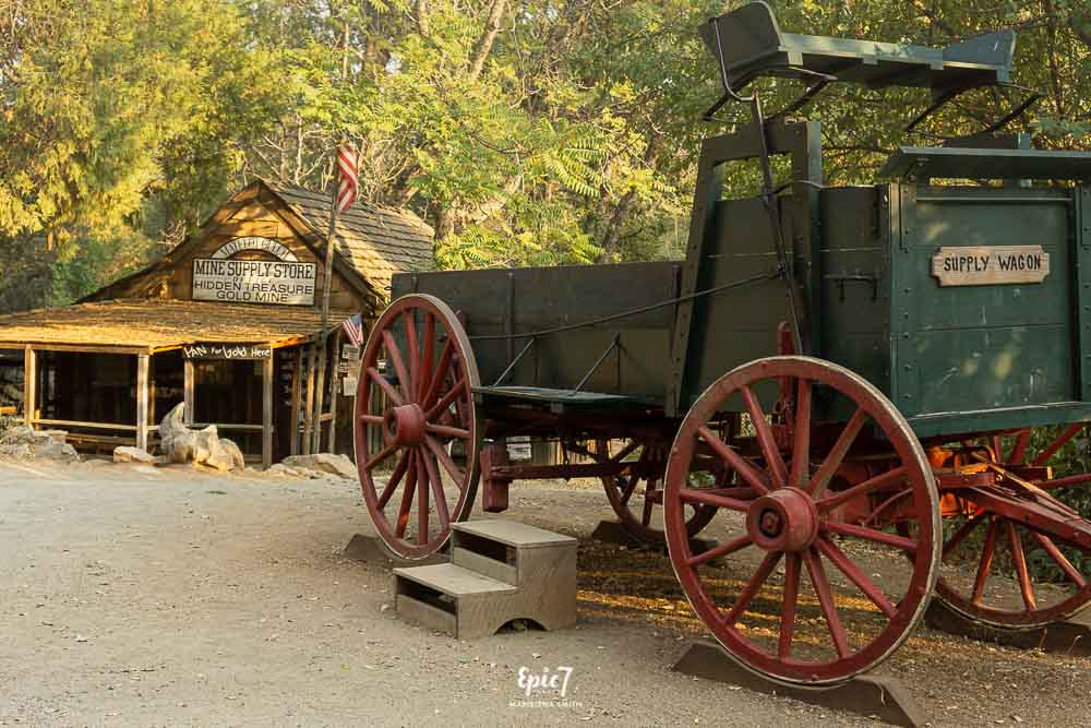 California Gold Rush Towns-Columbia Stagecoach