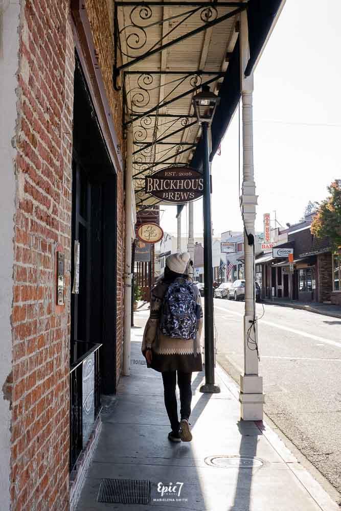 California Gold Rush Towns-Jackson Street Scene