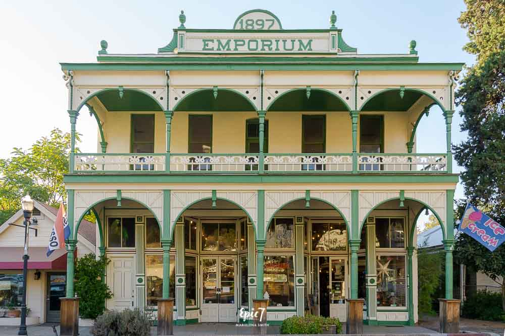 California Gold Rush Towns -Jamestown Emporium