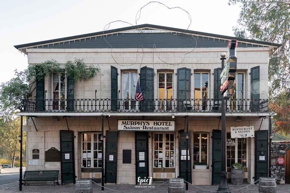 California Gold Rush Towns-Murphys Hotel