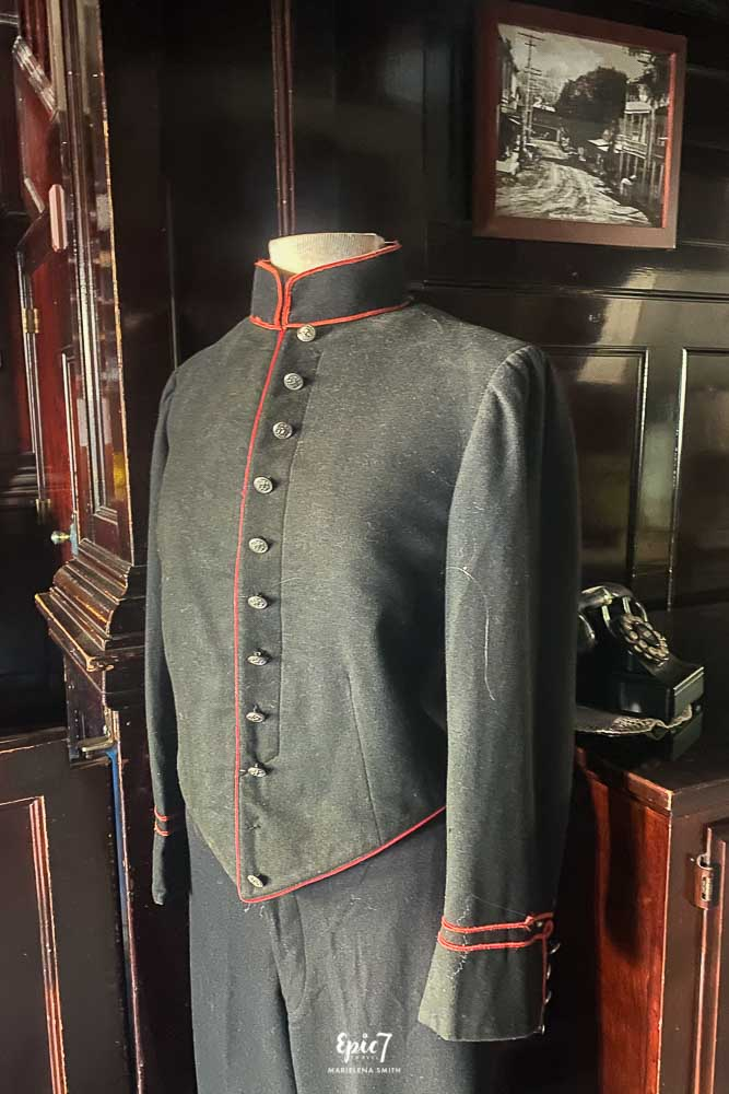 Cary House Hotel Bellman Outfit Placerville California