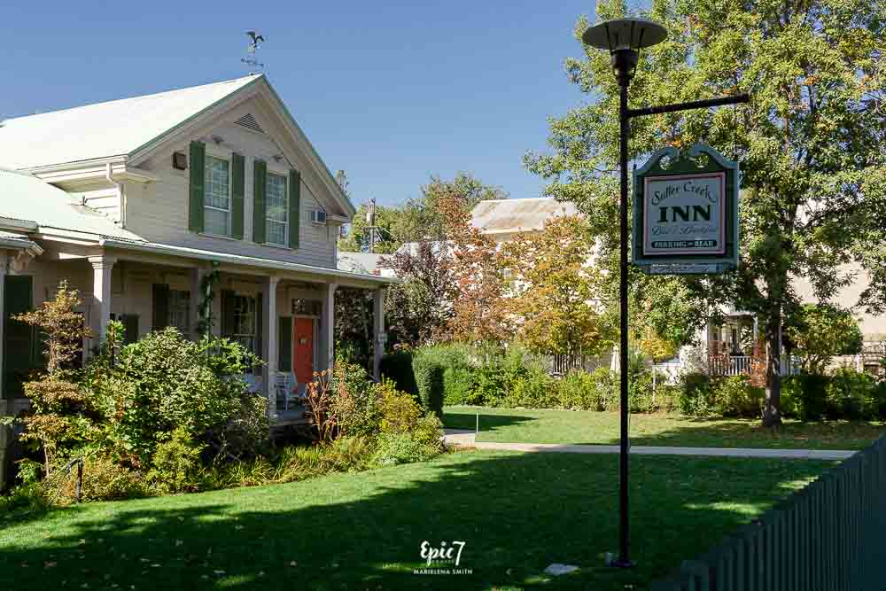 California Gold Rush Towns-Sutter Creek Inn