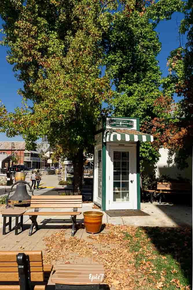 California Gold Rush Towns-Sutter Creek Library