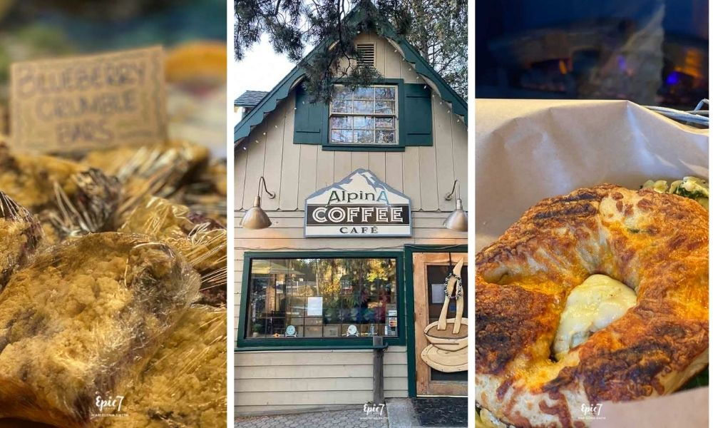 Alpina Cafe Food and Exterior