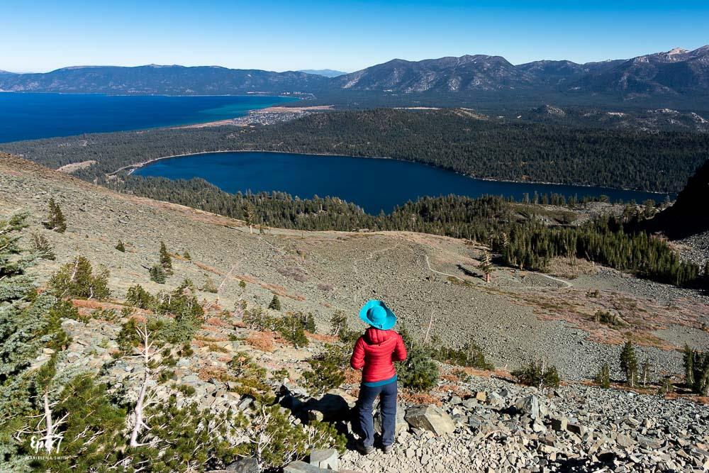Mt Tallac Hike-Tallus Field View