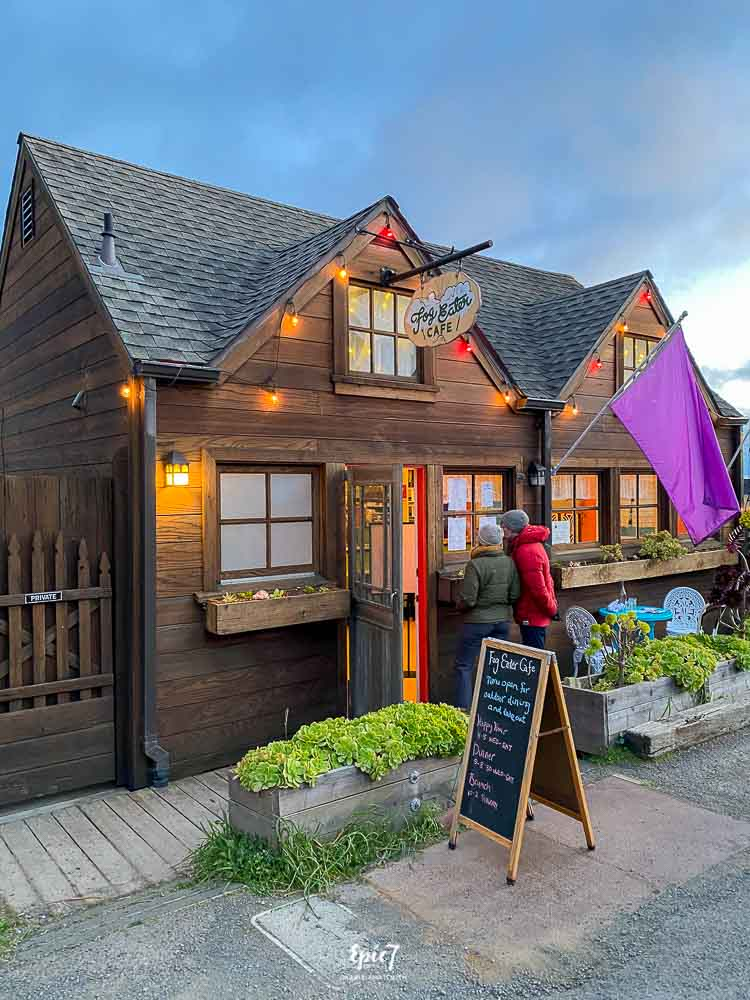 hings to Do in Mendocino Fog Eater Cafe