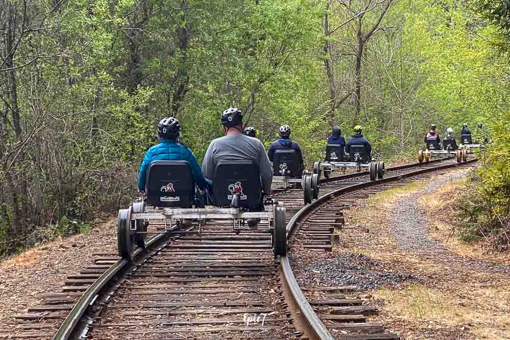 Things to Do in Fort Bragg Railbikes