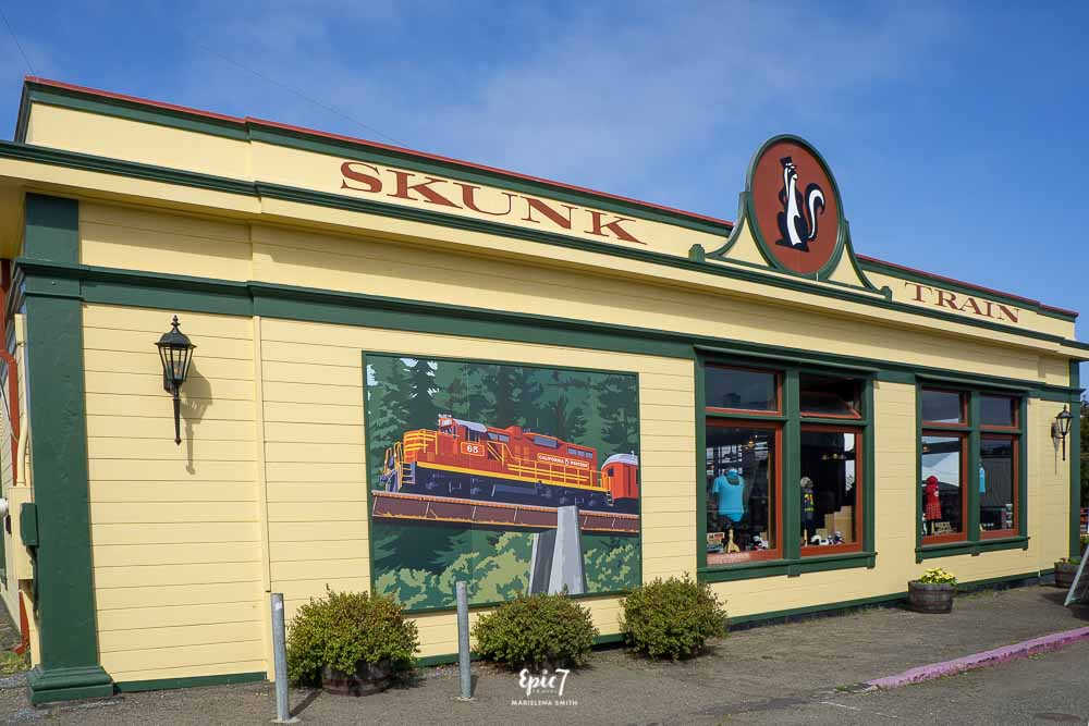 Things to Do in Fort Bragg Skunk Train Depot