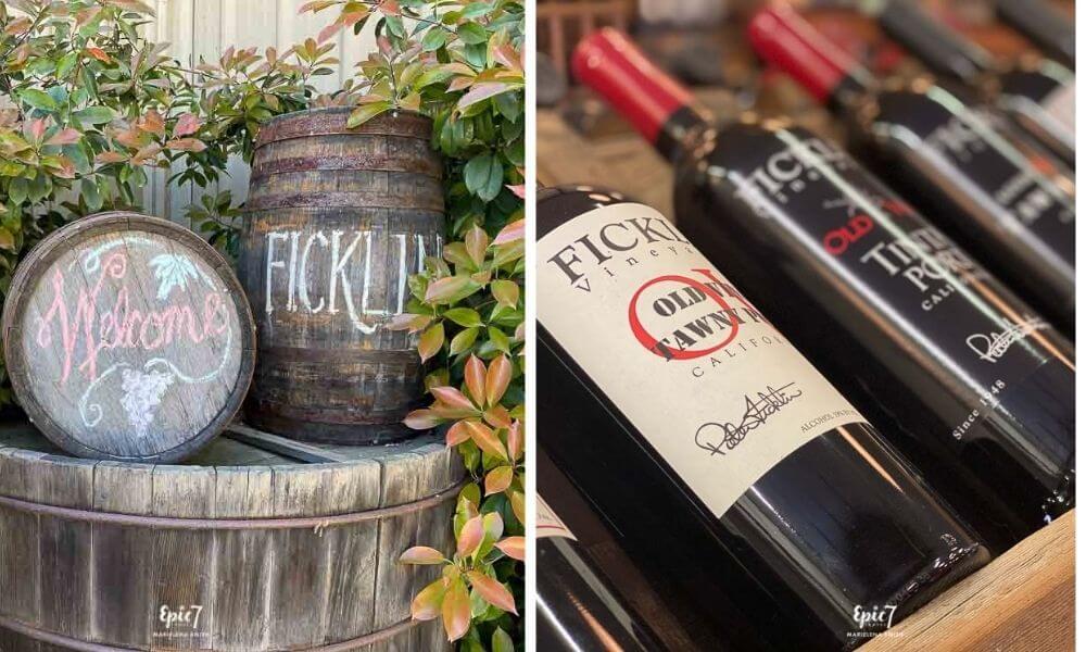 Ficklin Vineyards Port Barrels and Port