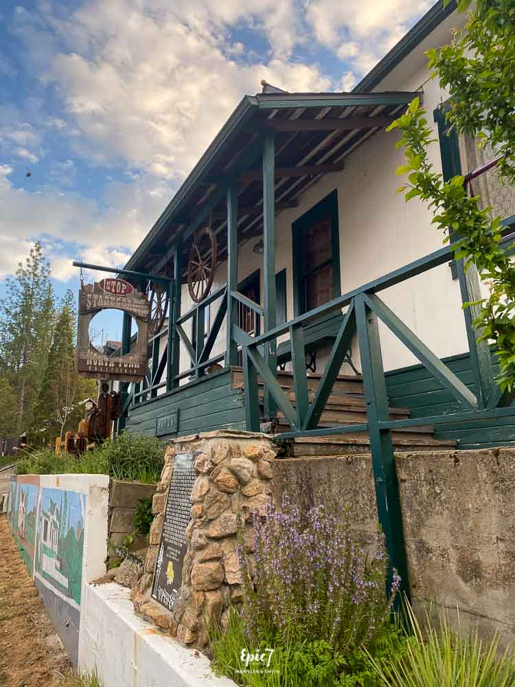 North Fork California Stagecoach Stop