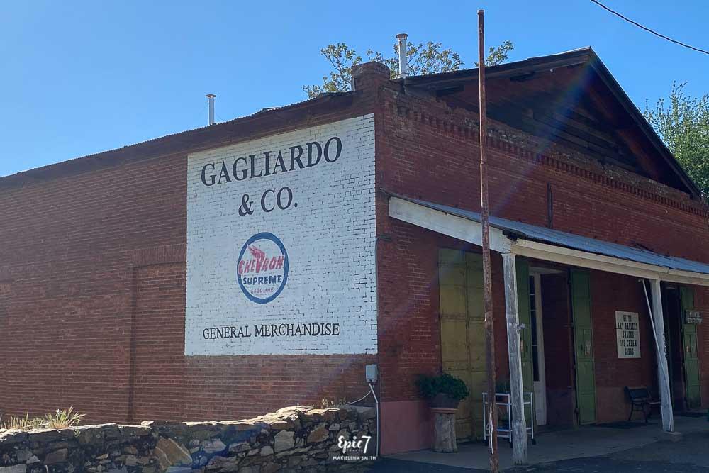 Things to Do Near Yosemite Gagliardo Building Hornitos