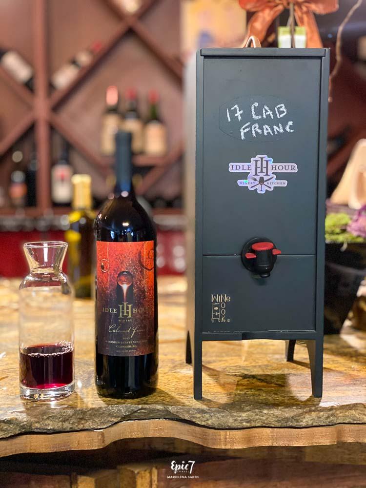 Idle Hour Winery Cabernet Franc