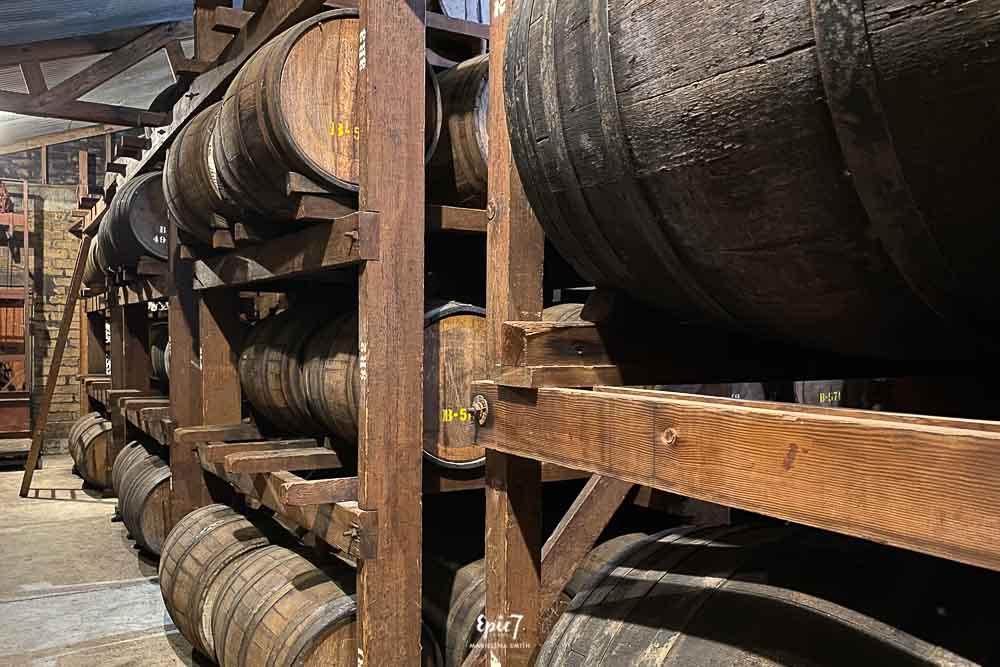 Things to Do in Oakhurst California Ficklin Vineyards Port Barrels