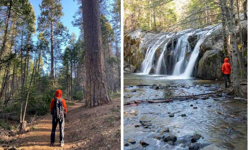 Things to Do in Oakhurst California Lewis Clark Trail Hiking and Red Rock Falls