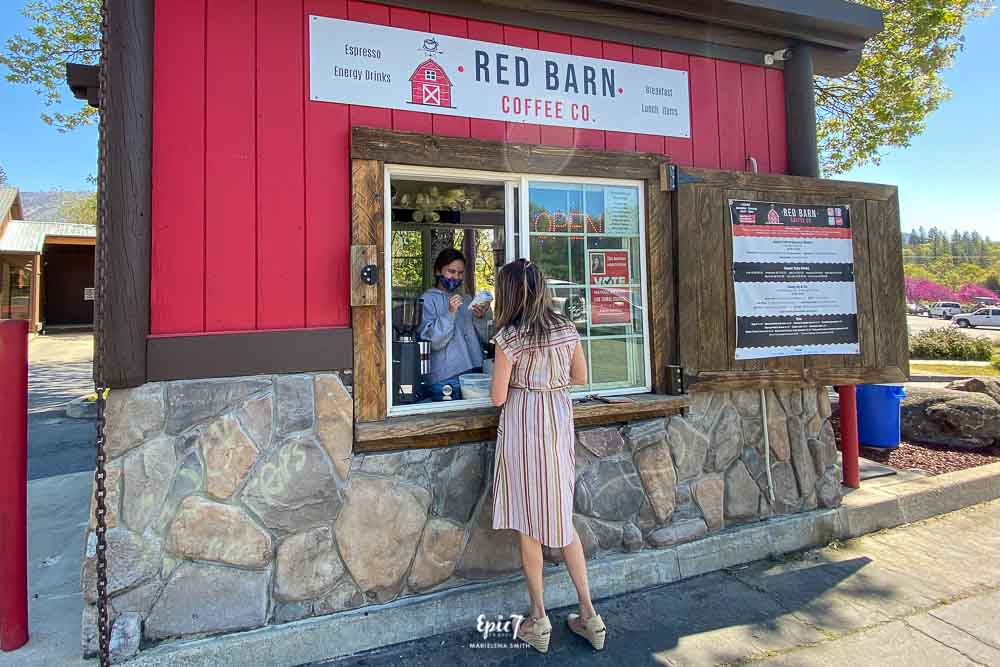 Things to Do in Oakhurst California Red Barn Coffee