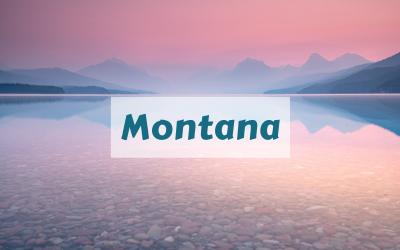 Montana Lake McDonald Glacier National Park
