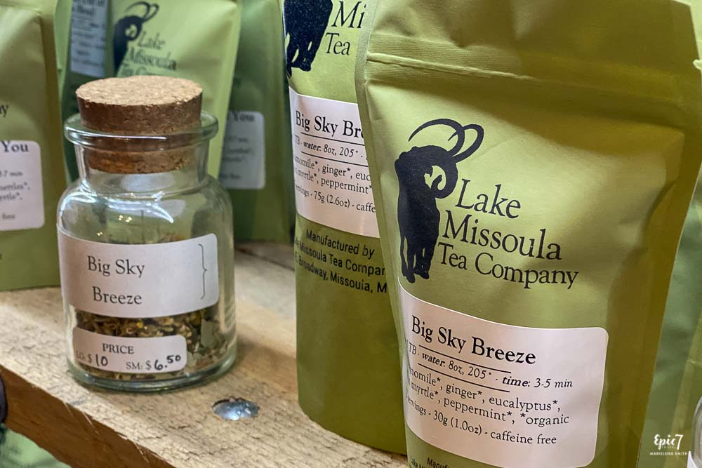 Lake Missoula Tea Company Missoula Montana