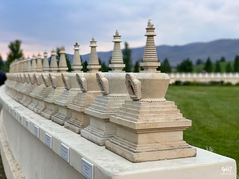 Garden of 1000 Buddhas Stupas