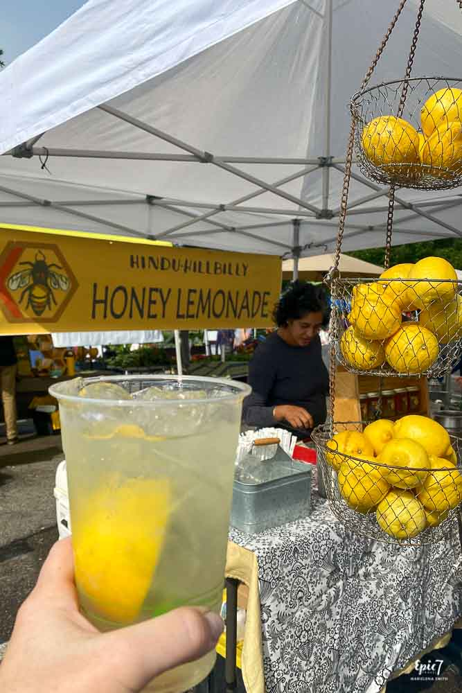 Hindu Hillbilly Honey Lemonade Missoula Farmers Market