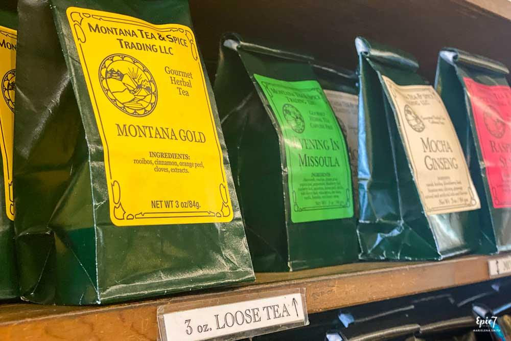Montana Gold Evening in Missoula Tea Butterfly Herbs Missoula Montana