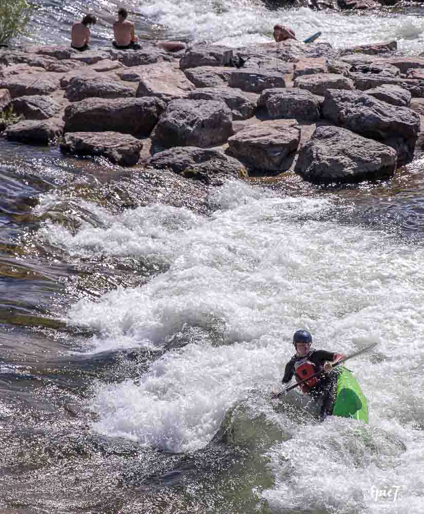 Things to Do in Missoula Montana Brennans Wave Kayaker