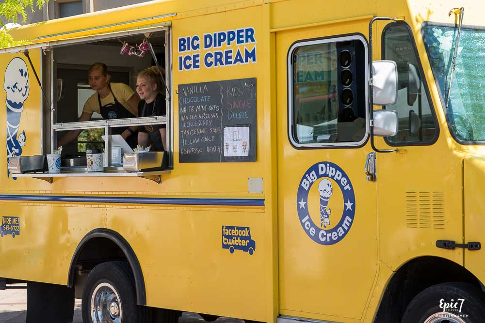 Big Dipper Ice Cream Food Truck Missoula Montana