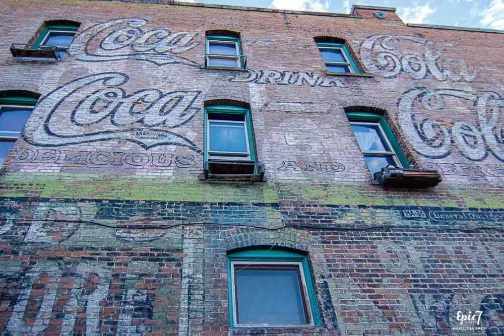 Missoula Montana Coca Cola Ghost Sign