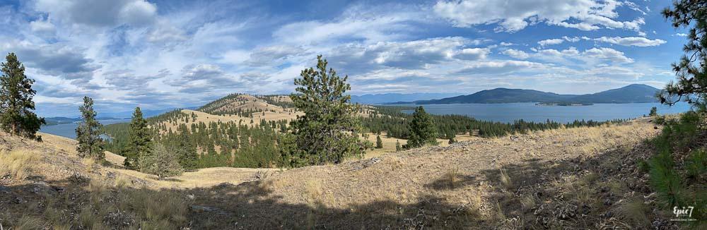 Panoramic Views from Wild Horse Island