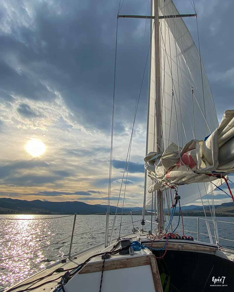 Sailing to Wild Horse Island Best Things to do in Whitefish Montana